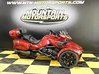 2018 Can-Am Spyder F3 for sale 200538010